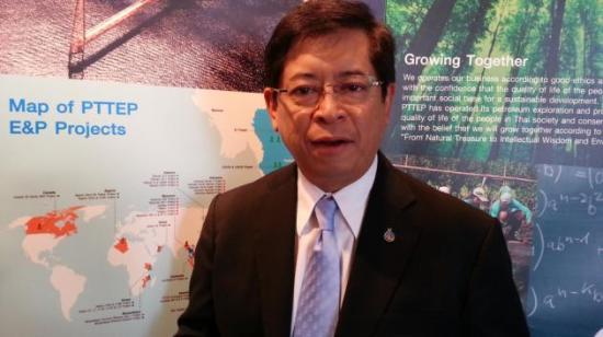 PTTEP CEO Tevin Vongvanich