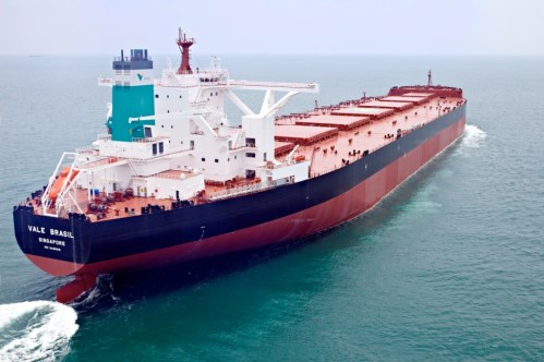 Iron Ore Shipping - Valemax, the world biggest vessels