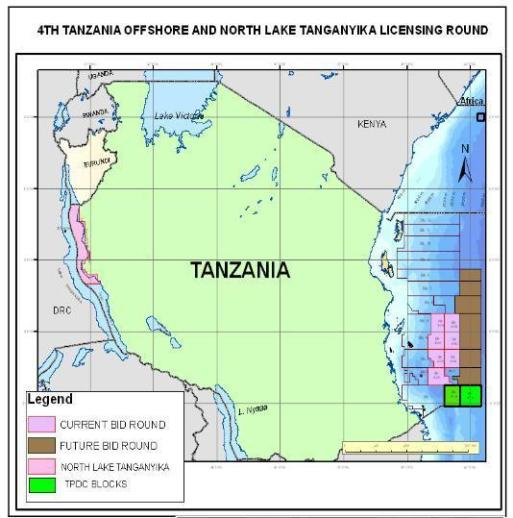 Tanzania 4th Offshore Licensing round
