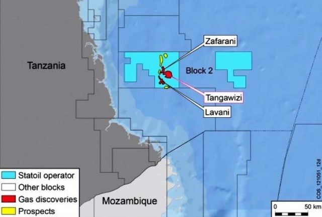 Statoil and ExxonMobil Announce New Discovery Offshore Tanzania