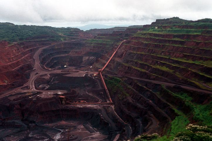 Vale Carajás iron ore Mine, Brazil