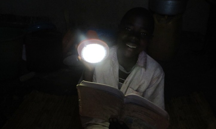 At t Martin's school in Nambuma, Malawi, teachers will use the lamps to prepare lessons in the evening and to charge up mobile phones for themselves and others. Photograph: John Vidal for the Guardian