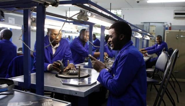 Diamond polishing and cutting centre in Zimbabwe