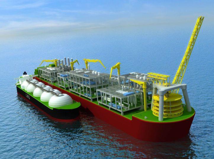 Gas floating platform sample