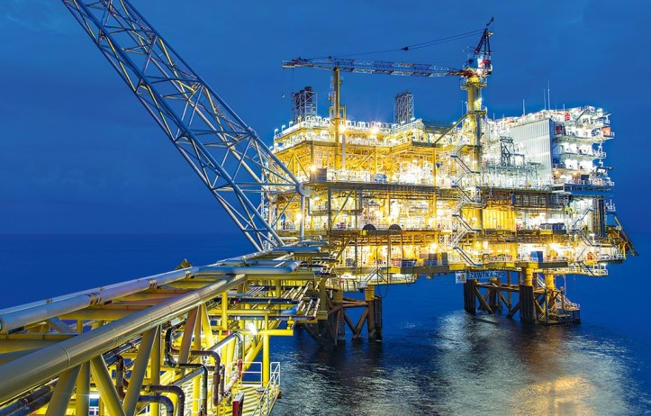 PTTEP-natural-gas-production-platform-in-Myanmar