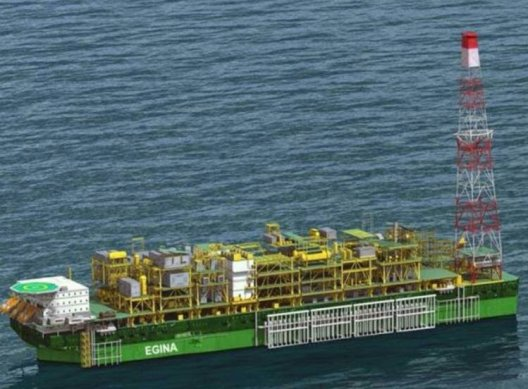OFFSHORE PLATFORM, NIGERIA (ILLUSTRATION)