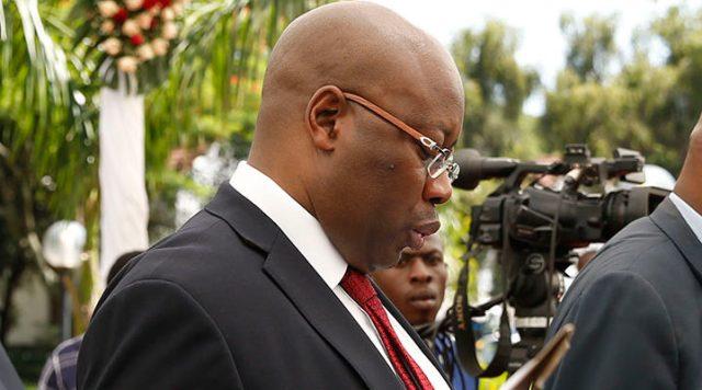 Zimbabwe's Minister of Mines, Winston Chitando.jpg