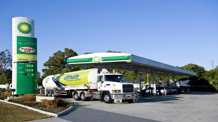 Petrol station Service-Stations-Promo-Box