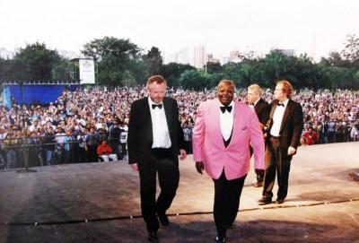 Oscar Peterson em concerto no Parque Ibirapuera, 1996