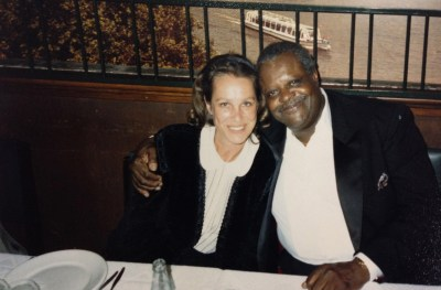 Sabine_Lovatelli com Oscar Peterson - 1987