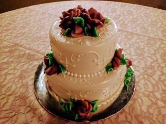 Blake-Perez Wedding Cake June 17
