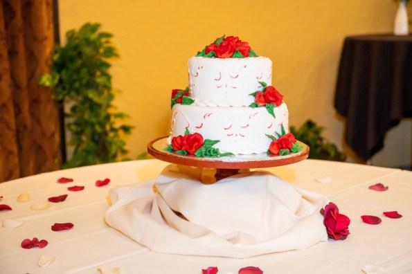 Zach & Jayne- Wedding cake