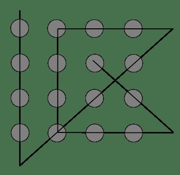 Šestnáct teček řešení