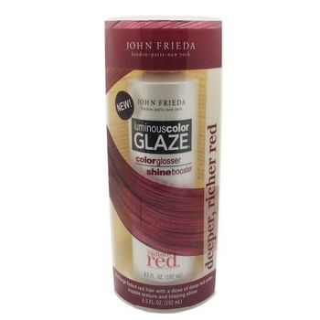 John Frieda - Radiant Red - Luminous Color Glaze  - Deeper, Richer Red - 6.5 oz