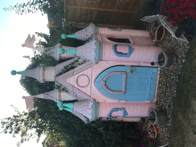 Feber Ultimate Princess Castle Outdoor Playhouse For Sale in     Feber Ultimate Princess Castle Outdoor Playhouse