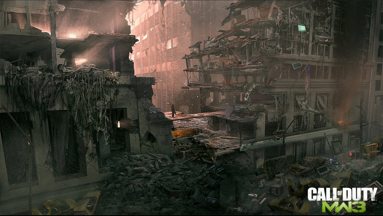 Check Out Some Awesome Modern Warfare 3 Concept Artwork