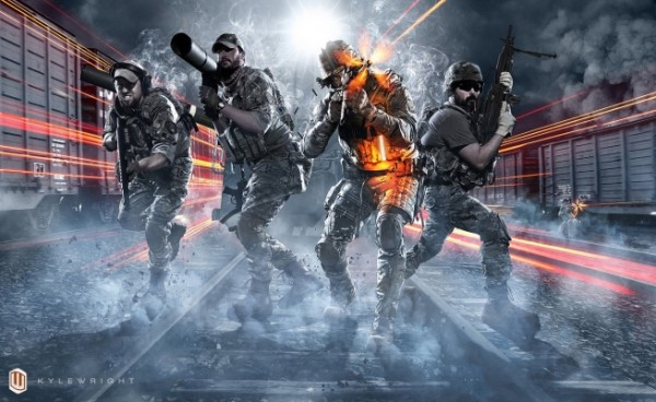 Be Advised, Jaw Dropping Battlefield 3 Artwork Spotted!