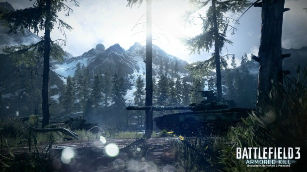 Stunning New Battlefield 3: Armored Kill Screens – Alborz Mountain and Death Valley