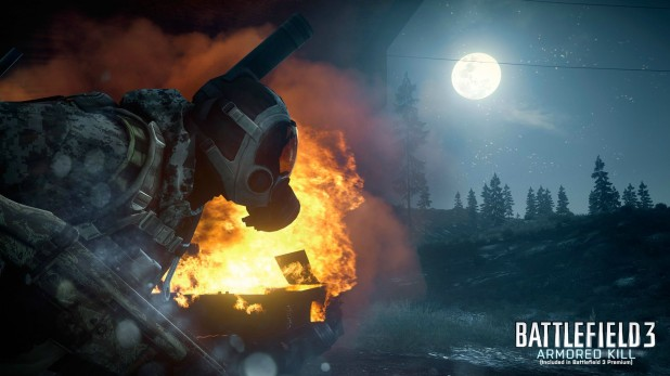 "Battlefield 3: Armored Kill ""Death Valley"" Off-Screen Gameplay Footage From Gamescom 2012"