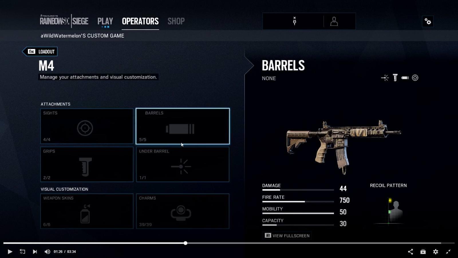 Siege Operators Sky Rainbow Grim New Six