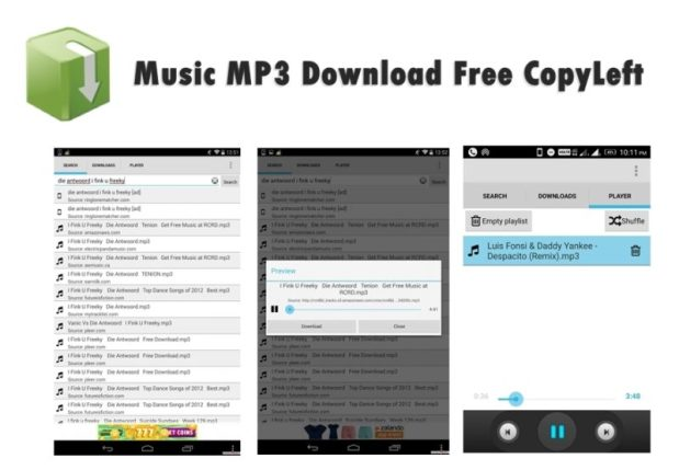 Music MP3 Download Free CopyLeft