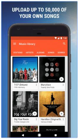 google play music upload