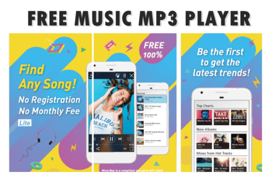 free music download mp3 player offline listening