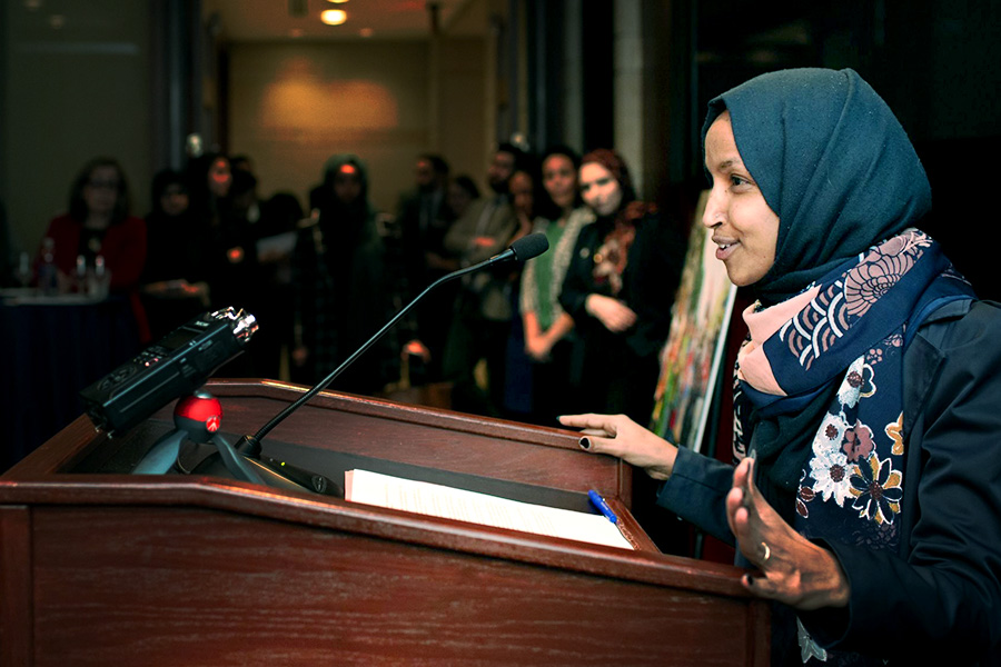 MPAC Muslim Ban Congressional event - Ilhan Omar