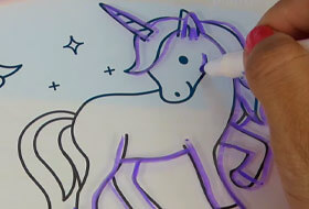 Планшет для рисования светящихся рисунков - Magic Pad