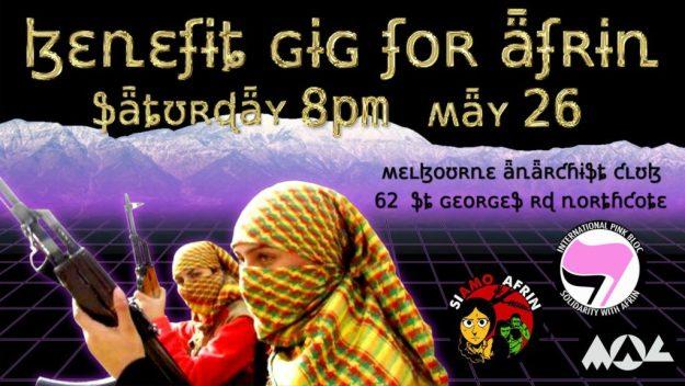 Narrm / Melbourne: Si Amo Afrin Fundraiser