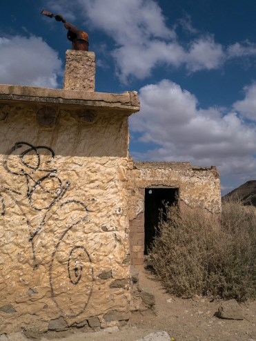 La remise agricole de Las Cortinas