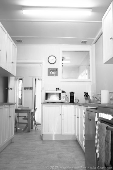 original kitchen of our old beach shack