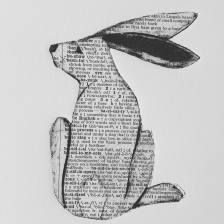 collagraph rabbit with chine colle http://www.stacyfrank.com/