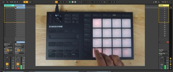 Maschine Mikro MK3 Recording Chords in Ableton Live 10