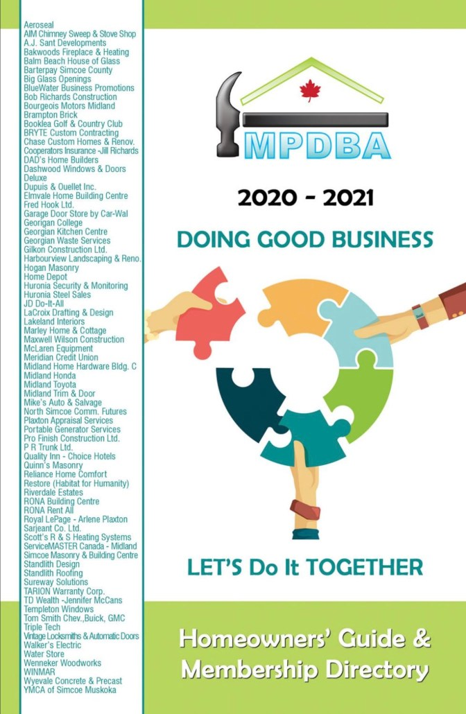 MPDBA 2020 to 2021 Membership Directory and Homeowners Guide