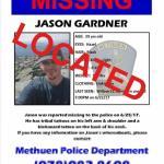 UPDATE: Jason Gardner has been located