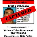 Murder Suspect Emilio DeLarosa CAPTURED!