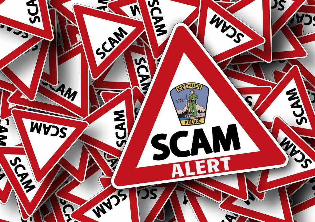 Scam Alert from the Methuen Police Department