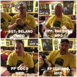 MR8 Burger Challenge Accepted by Methuen Police and Methuen Fire to Benefit Martin Richard Foundation