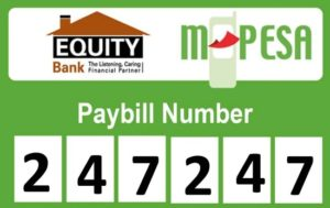 How To transfer Money From MPesa To Equity bank Using Equity Paybill Number