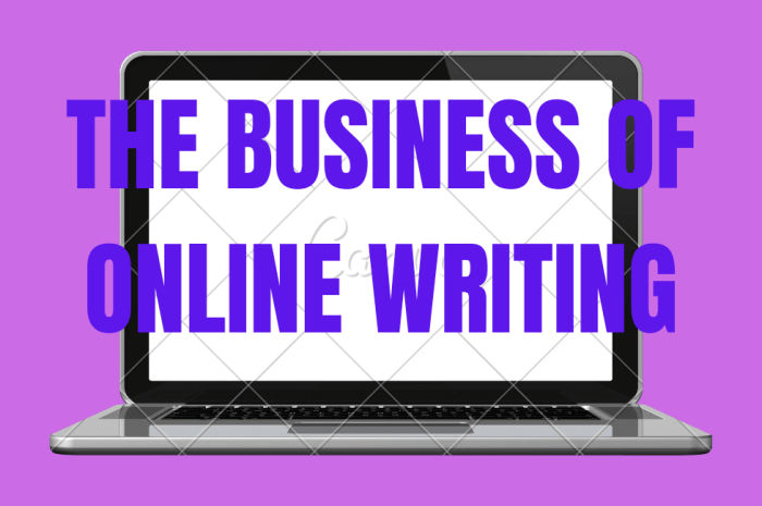 The Business Of Online Writing: Freelance Article Writers Tips