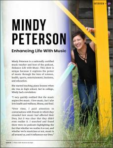 Podcast Magazine, featured music podcast (Aug-2021, p. 35)