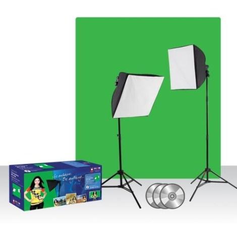 green screen light kit
