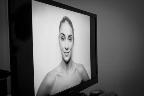 Dani D. from Heyman Talent on the big screen.