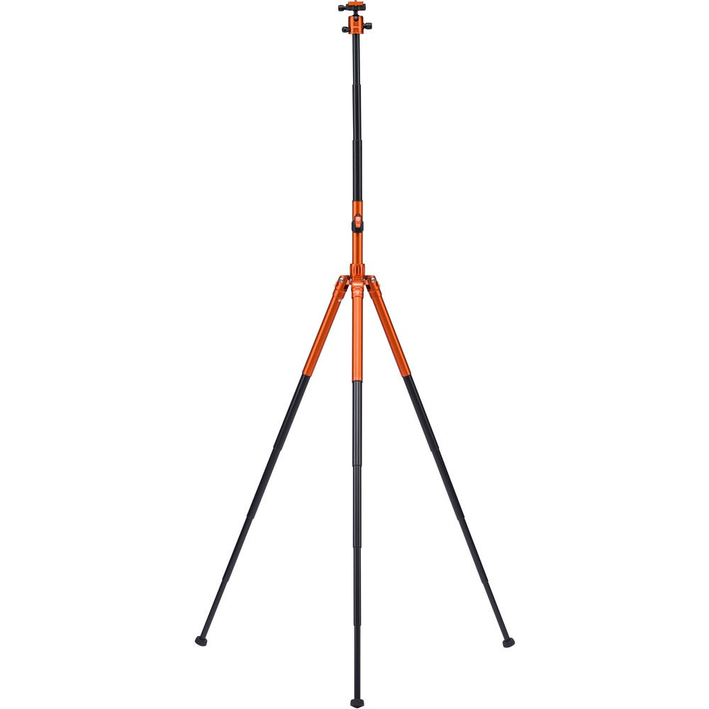 Although this tripod is meant to be travel-size when folded, the Mefoto Air series is designed to unfold to a full size tripod.