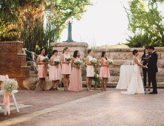 The ceremony - photo credit: Kym Ventola
