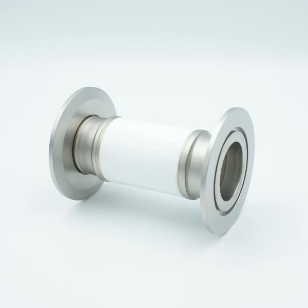 "MPF - A0597-4-QF Ceramic Break, 30KV Isolation, 1.37"" Inner Dia, 2.95"" QF / KF Flange"