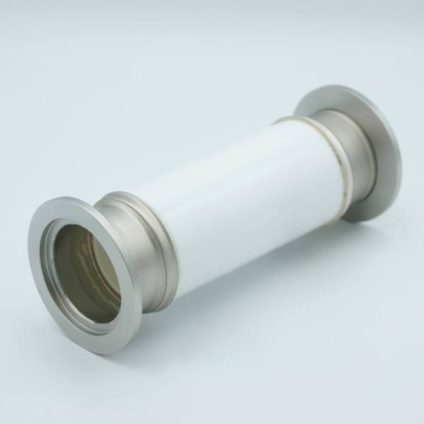 "MPF - A0597-5-QF Ceramic Break, 60KV Isolation, 1.37"" Inner Dia, 2.16"" QF / KF Flange"