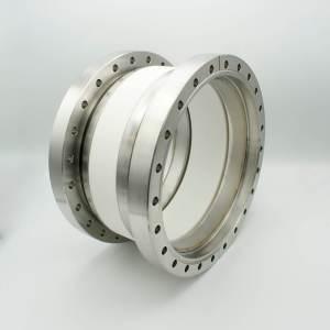 "MPF - A0805-4-CF Ceramic Break, 20KV Isolation, 7.75"" Inner Dia, 10.00"" Conflat Flange"