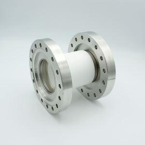 "MPF - A1991-4-C Ceramic Break, 40KV Isolation, 2.40"" Inner Dia, 6.00"" Conflat Flange"